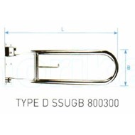 LC_NORIKA_Type D Handicapped Grab Bar_UGB - bim
