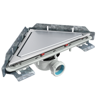 S-795 Linnum triangular floor gully - bim