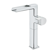 FORMENTERA tall open cascade washbasin mixer - bim