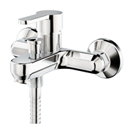 ZIP - Mixer bath and shower wall-mounted tap - bim