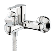 Mixer bath and shower wall-mounted tap - bim