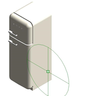 Refrigerators FAB30LFG - Hinge position: Left - bim