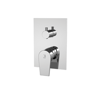 Two-way built-in shower mixer tap - bim