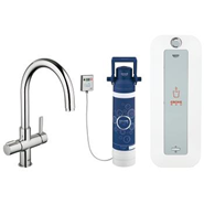 GROHE - Red Duo Faucet and combi-boiler - bim