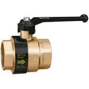 3230 - BALLSTOP - Ball valve with built-in check valve with lever handle - bim