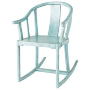 Blue kid's armchair - MAO - bim