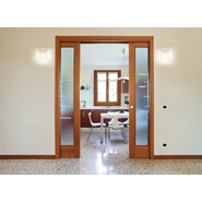 ECLISSE DOUBLE - solid wall - finished wall 108 mm - bim