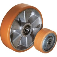 Wheels aluminium rims with injection-moulded tread - bim