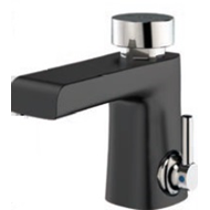 Washbasin tap timed mixer: PRESTO XT 2000 - LM Black - bim