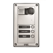 Modular Video Entry Panel with House Number, Sinthesi Steel, 14 users, 2Voice - bim