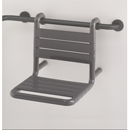 Suspendable shower seat, 380 x 515 x 390 mm - bim
