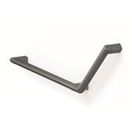 Grab rail, 350 x 316mm, 135°, right - bim