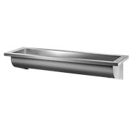 120250 CANAL wall-mounted wash trough - bim