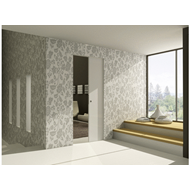 ECLISSE SYNTESIS LINE - stud wall - finished wall 125 mm - bim