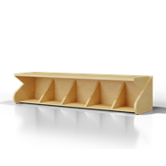 Seat with Shoe Shelf - bim