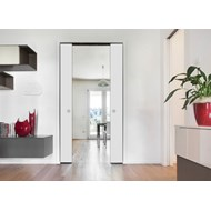 ECLISSE EWOLUTO DOUBLE - solid wall - finished wall 150 mm  - bim