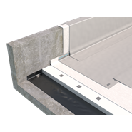 PVC exposed roofing mechanical fastening system - bim