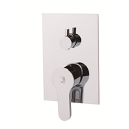 ZIP - Two-way built-in shower mixer tap - bim