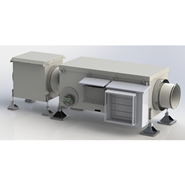 Heat recovery exhaust fan AWN-RV A50 - bim