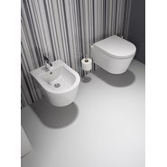 Wall mounted toilet urb.y with concealed fixation - bim