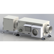 Heat recovery exhaust fan AWN-RV A40 - bim