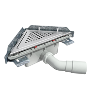 S-793 Linnum triangular floor gully - bim