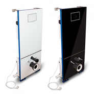 T-604CC Concealed cistern with glass cover and incorporated sanitary macerator CICLON CC - bim
