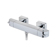 SOLLER thermostatic shower mixer - bim